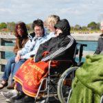 Sonne, Wasser, Wind: Die Senioren-WG aus Oelde macht jedes Jahr gemeinsam Urlaub an der Ostsee.