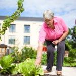 Auch Gartenarbeit ist möglich.
